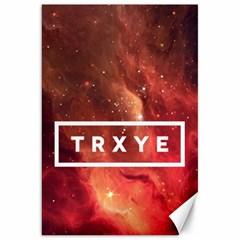 Trxye Galaxy Nebula Canvas 20  X 30   by Onesevenart