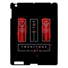 Twenty One Pilots Apple Ipad 3/4 Hardshell Case by Onesevenart