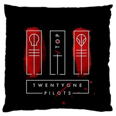 Twenty One Pilots Standard Flano Cushion Case (one Side) by Onesevenart