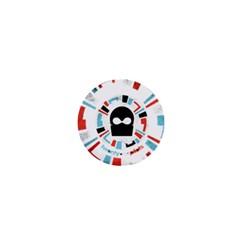 Twenty One Pilots 1  Mini Buttons by Onesevenart
