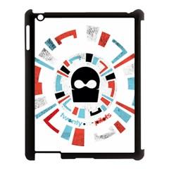 Twenty One Pilots Apple Ipad 3/4 Case (black) by Onesevenart