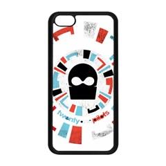 Twenty One Pilots Apple Iphone 5c Seamless Case (black) by Onesevenart