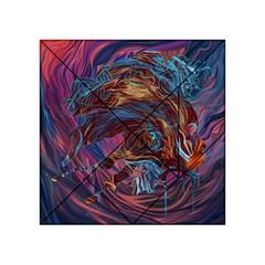 Voodoo Child Jimi Hendrix Acrylic Tangram Puzzle (4  X 4 ) by Onesevenart