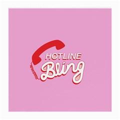 Hotline Bling Medium Glasses Cloth by Onesevenart