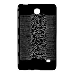 Grayscale Joy Division Graph Unknown Pleasures Samsung Galaxy Tab 4 (7 ) Hardshell Case  by Onesevenart
