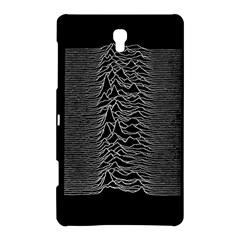 Grayscale Joy Division Graph Unknown Pleasures Samsung Galaxy Tab S (8 4 ) Hardshell Case  by Onesevenart