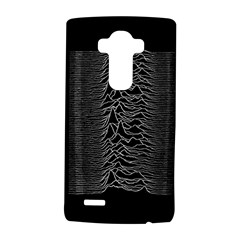 Grayscale Joy Division Graph Unknown Pleasures LG G4 Hardshell Case by Onesevenart