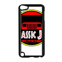 Jurassic Jeep Park Apple Ipod Touch 5 Case (black) by Onesevenart