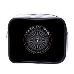 Twenty One Pilots Power To The Local Dreamder Mini Toiletries Bags by Onesevenart