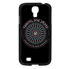 Twenty One Pilots Power To The Local Dreamder Samsung Galaxy S4 I9500/ I9505 Case (black) by Onesevenart
