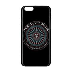 Twenty One Pilots Power To The Local Dreamder Apple Iphone 6/6s Black Enamel Case by Onesevenart