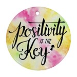 Positivity - Ornament (Round)