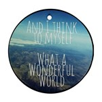 ThinkMyself - Ornament (Round)