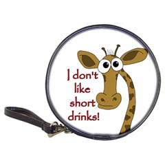 Giraffe Joke Classic 20 Cd Wallets by Valentinaart