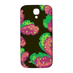 Colorful Leafs Samsung Galaxy S4 I9500/i9505  Hardshell Back Case by Valentinaart