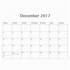 Christenson 2017 By Heather   Wall Calendar 11  X 8 5  (12 Months)   Hawwq7hd3jto   Www Artscow Com Dec 2017