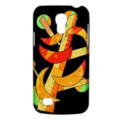 Orange Moon Tree Galaxy S4 Mini by Valentinaart