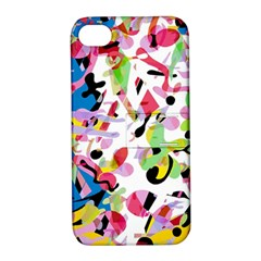 Colorful Pother Apple Iphone 4/4s Hardshell Case With Stand by Valentinaart