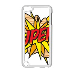 Comic Book Super! Apple Ipod Touch 5 Case (white) by ComicBookPOP
