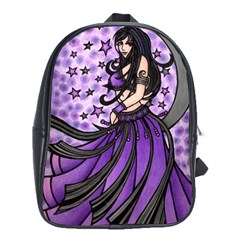 Violet Moon Belly Dancer School Bags (xl)  by BubbSnugg