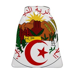 National Seal of Algeria Bell Ornament (2 Sides) by abbeyz71