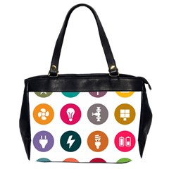 Acces Image Consumer News Letter Office Handbags (2 Sides)  by AnjaniArt