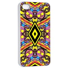 Bulgarian Eye Apple Iphone 4/4s Seamless Case (white) by MRTACPANS