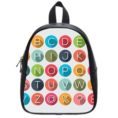 Alphabet School Bags (small)  by AnjaniArt