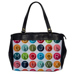 Alphabet Office Handbags by AnjaniArt