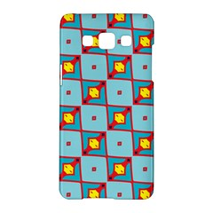 Shapes In Squares Pattern                                                                                                           samsung Galaxy A5 Hardshell Case by LalyLauraFLM