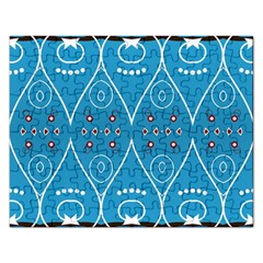 Ornamental Shapes                                                                                                             			jigsaw Puzzle (rectangular) by LalyLauraFLM