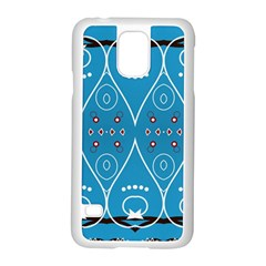 Ornamental Shapes                                                                                                            			samsung Galaxy S5 Case (white) by LalyLauraFLM