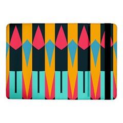 Shapes And Stripes                                                                                                            samsung Galaxy Tab Pro 10 1  Flip Case by LalyLauraFLM