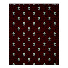 Bloody Cute Zombie Shower Curtain 60  X 72  (medium)  by AnjaniArt