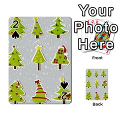 Christmas Elements Stickers Playing Cards 54 Designs  by AnjaniArt