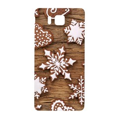 Christmas Cookies Samsung Galaxy Alpha Hardshell Back Case by AnjaniArt