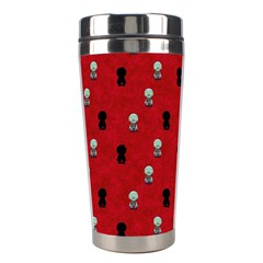 Cute Zombie Pattern Stainless Steel Travel Tumblers by AnjaniArt