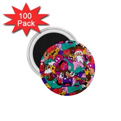 Face 1 75  Magnets (100 Pack)  by AnjaniArt