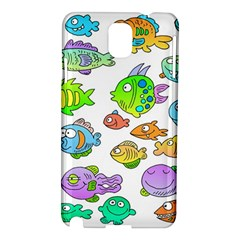 Fishes Col Fishing Fish Samsung Galaxy Note 3 N9005 Hardshell Case by AnjaniArt