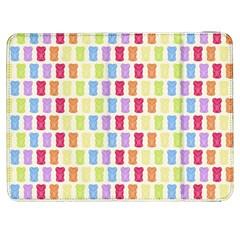 Gummibears Candy Samsung Galaxy Tab 7  P1000 Flip Case by AnjaniArt