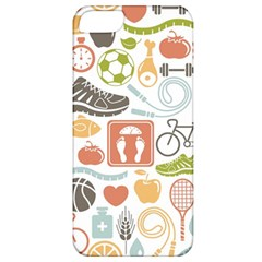 Health Habits Attitudes Hispanic Studied Sport Apple Iphone 5 Classic Hardshell Case by AnjaniArt