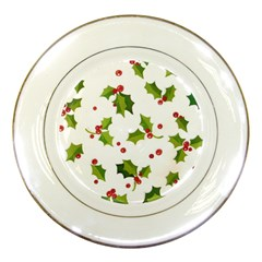 Images Paper Christmas On Pinterest Stuff And Snowflakes Porcelain Plates by AnjaniArt
