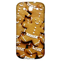 Gingerbread Men Samsung Galaxy S3 S Iii Classic Hardshell Back Case by AnjaniArt