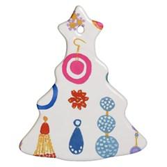 Interior Ornament (christmas Tree) by AnjaniArt