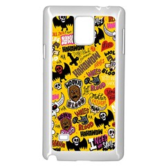Lolzig Pattern Samsung Galaxy Note 4 Case (white) by AnjaniArt