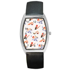 Olympics Swimming Sports Barrel Style Metal Watch by AnjaniArt