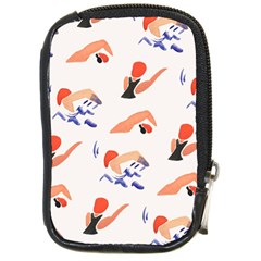 Olympics Swimming Sports Compact Camera Cases by AnjaniArt