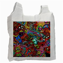 Moster Mask Recycle Bag (two Side)  by AnjaniArt
