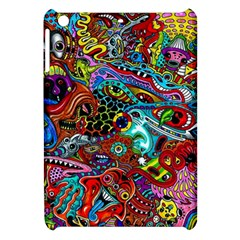 Moster Mask Apple Ipad Mini Hardshell Case by AnjaniArt