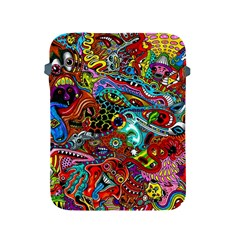 Moster Mask Apple Ipad 2/3/4 Protective Soft Cases by AnjaniArt